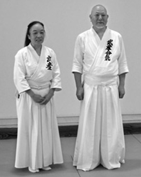 Headmaster Suzuki Shigeyuki Sensei and his wife Suzuki Yukiko Sensei, daughter of our first Headmaster 2009