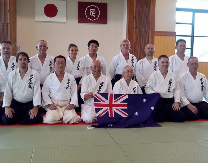 Takemusu Aikido Group Photo