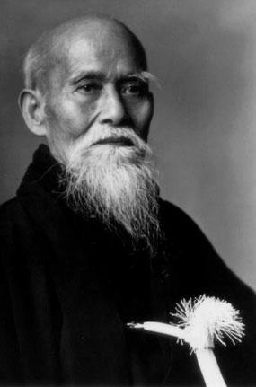 Image of O'Sensei Morihei Ueshiba